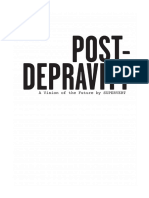 Post Depravity by Supervert