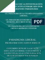 Tedesco Paradigamas de La Investigación Educativa