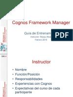 Curso Cognos Framework Manager 10.2.1