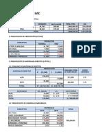 Desarrollo de Presupuesto Maestro n2