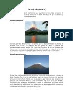 Tipos de Vulcanismos