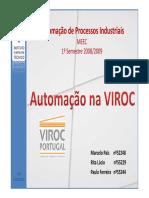Automação Na VIROC