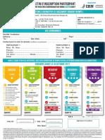 MEDRH - Bulletin de Participation W