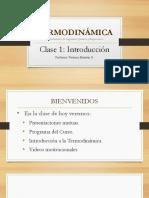 IIQ 1003 Clase 1. Introducción VMG