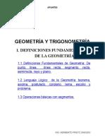A.1 Apuntes Definiciones de Fundamentales de Geometria (1)