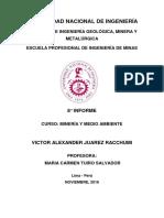 8° informe de minería y medio ambiente