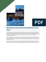 2222.222Monitoreo de los Recursos Hídricos en el Perú.docx