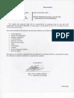 Memorandum 001