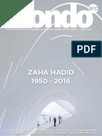 Zaha Hadid - 1950 - 2016
