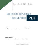 Ejercicios de Cálculo de subredes.docx