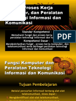 Fungsi Komputer Dan Peralatan Teknologi Informasi Dan Komunikasi
