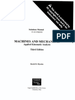 264128430 Mecanismos y Maquinas Myszka Solutions Manual 3ra Edicion