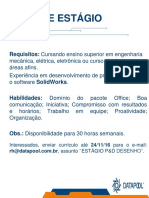 Estagio_p&D_desenho Empresa Datapool