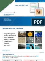 Maschinelles Lernen Mit Matlab