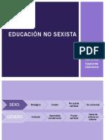 Educaciòn No Sexista