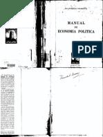 Vilfredo Pareto - Manual de Economía Política