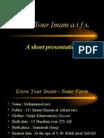 Imam-e-Zamana (a.s.)