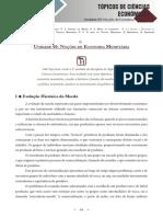 Topicos de Ciencias Economicas - Unidade 05