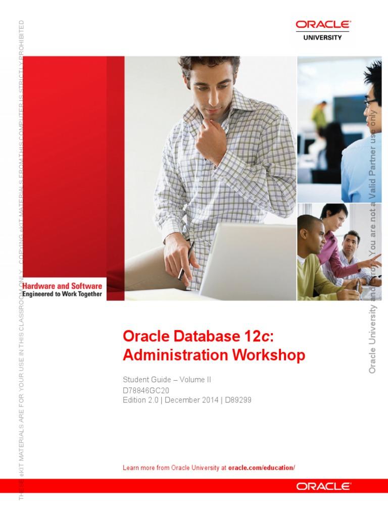 oracle database 12c administration workshop student guide volume ii rh es scribd com Oracle Solaris 11 ISO OCP Oracle Solaris 11