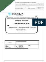 Lab 01 - Introducción a La Programación Funciones Logicas Basicas Roy