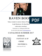Raven Books Summer 2017