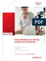 Oracle Database 12C Backup and Recovery Workshop. Student Guide – Volume 11