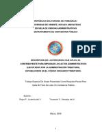 44-TESIS.cp009R78 - Recursos Aplicables en La Defensa de Los Contribuyentes