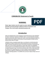 CORGIBUCKS Statement of Work