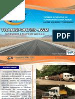 Nuestro Brochure Transportes JWM