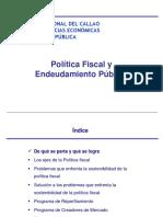 O2.- Politica Fiscal y Endeudamiento