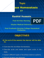 Acid-base Homeostasis Rashid