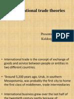 IB International Trade Theories