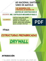 Edificaciones Prefabricadas Drywall