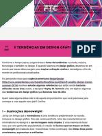 5 tendências em design gráfico para ficar de olho e se inspirar - Follow the Colours