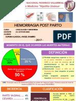 Hemorragia POST PARTO