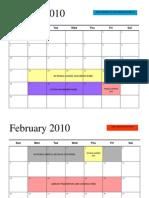 Doh Calendar
