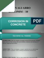Irfan Ali Corrosion in Concrete