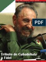 Tributo de Cubadebate a Fidel - Tomo I