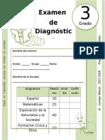 3er Grado - Examen de Diagnóstico (2017-2018)