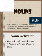 Click Here for NOUNS PowerPoint
