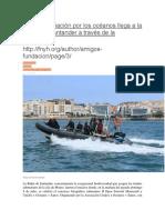 La Concienciación Por Los Océanos Llega a La Bahía de Santander a Través de La Fotografía