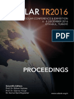 Proceedings Solar Tr2016