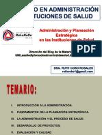 Diplomado DAIS _La Administración y el proceso de salud_