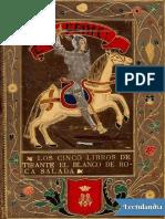 Tirante El Blanco-Joanot Martorell