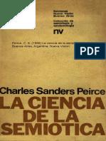 La Ciencia de La Semiótica
