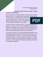 2.3 Los Organismos Públicos de Derechos Humanos en México