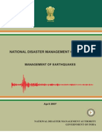 Guidelines Earthquakes
