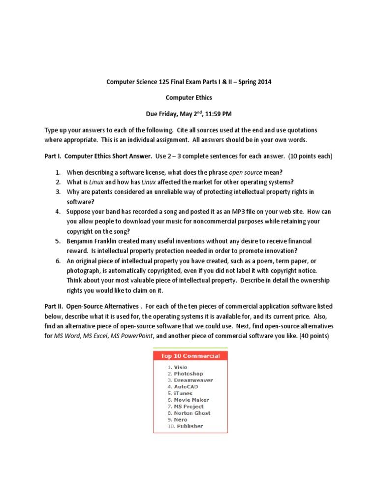 csc 125 final part i ii software intellectual property 1511824495v1 csc 125 final part i ii open source alternative to visio - Alternativeto Visio
