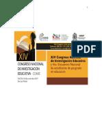 Congresos Nacionales de Investigación Educativa