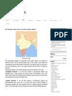 6. the Vijayanagara Empire and Its Socio-Economic-Cultural Conditions